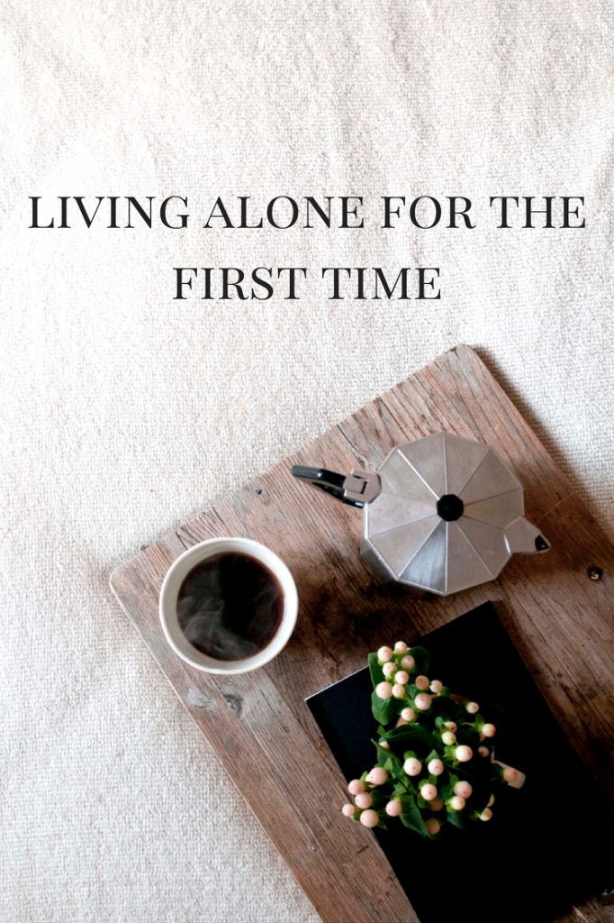 living alone for the first time with bree west