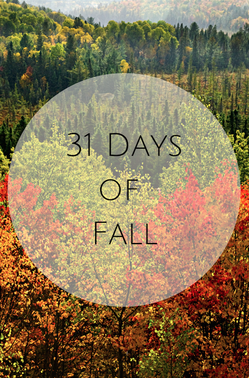 31 Days of Fall: Favorite Fall activities