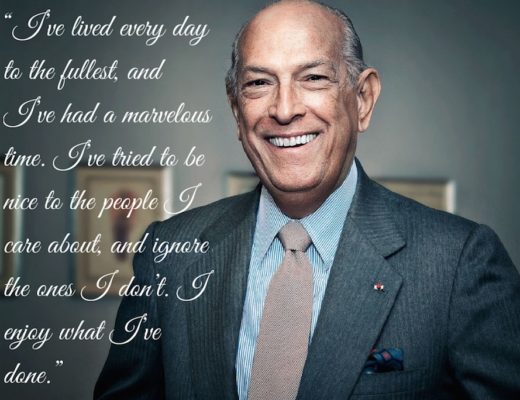 Oscar de la Renta Words of Wisdom