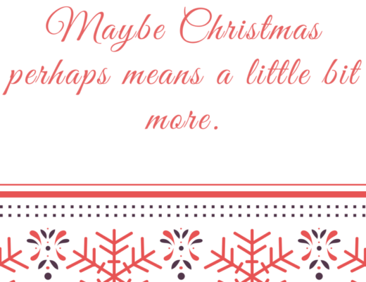Words of Wisdom Holiday Cheer