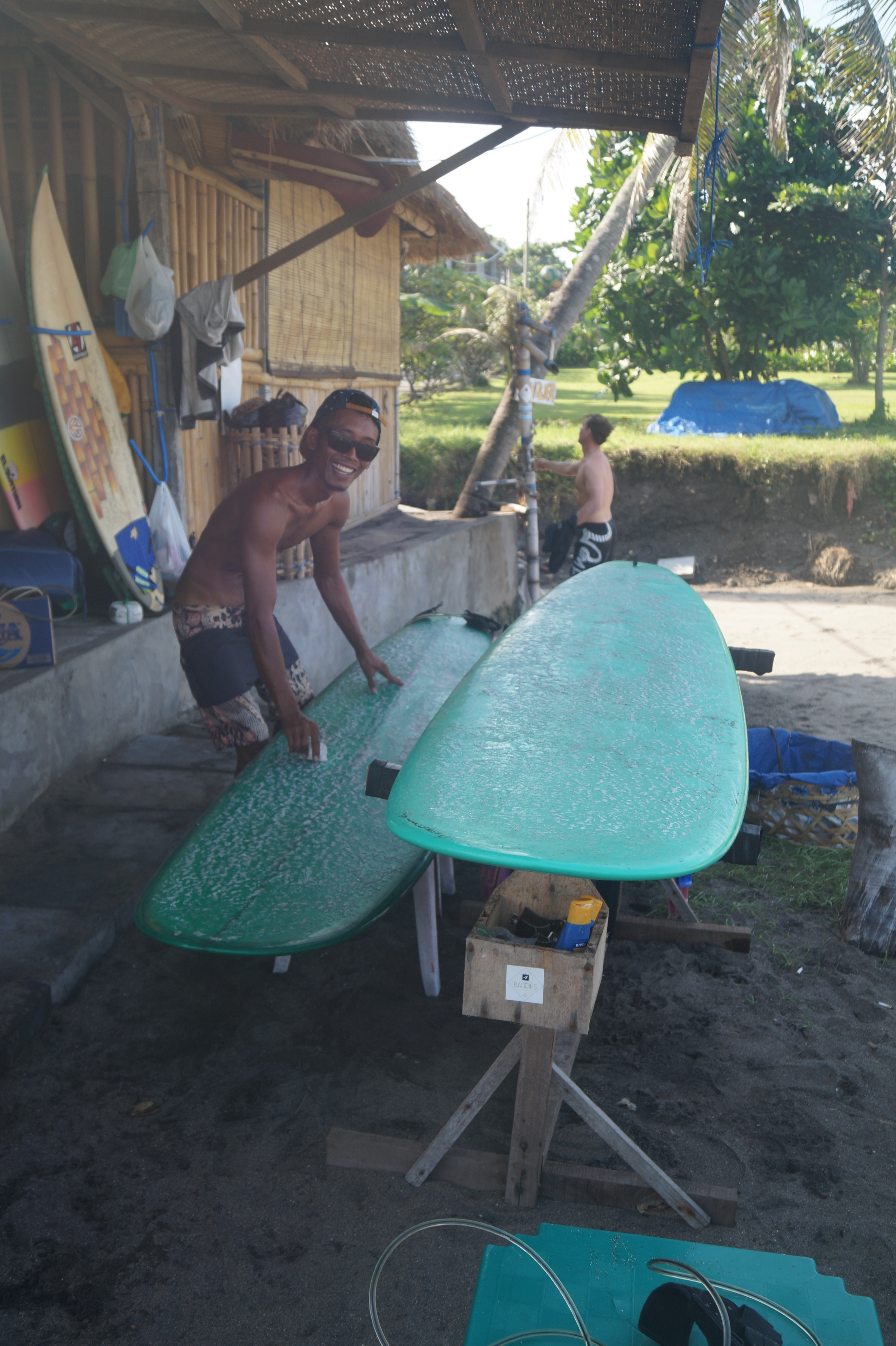 Surfing with Mind Body Soul Surf Bali