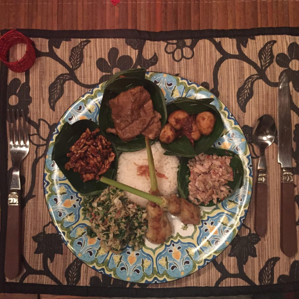 Nasi Campur, Wellness with Mind Body Soul Surf Bali