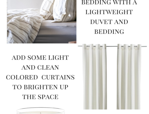 How to Lighten Up a Bedroom