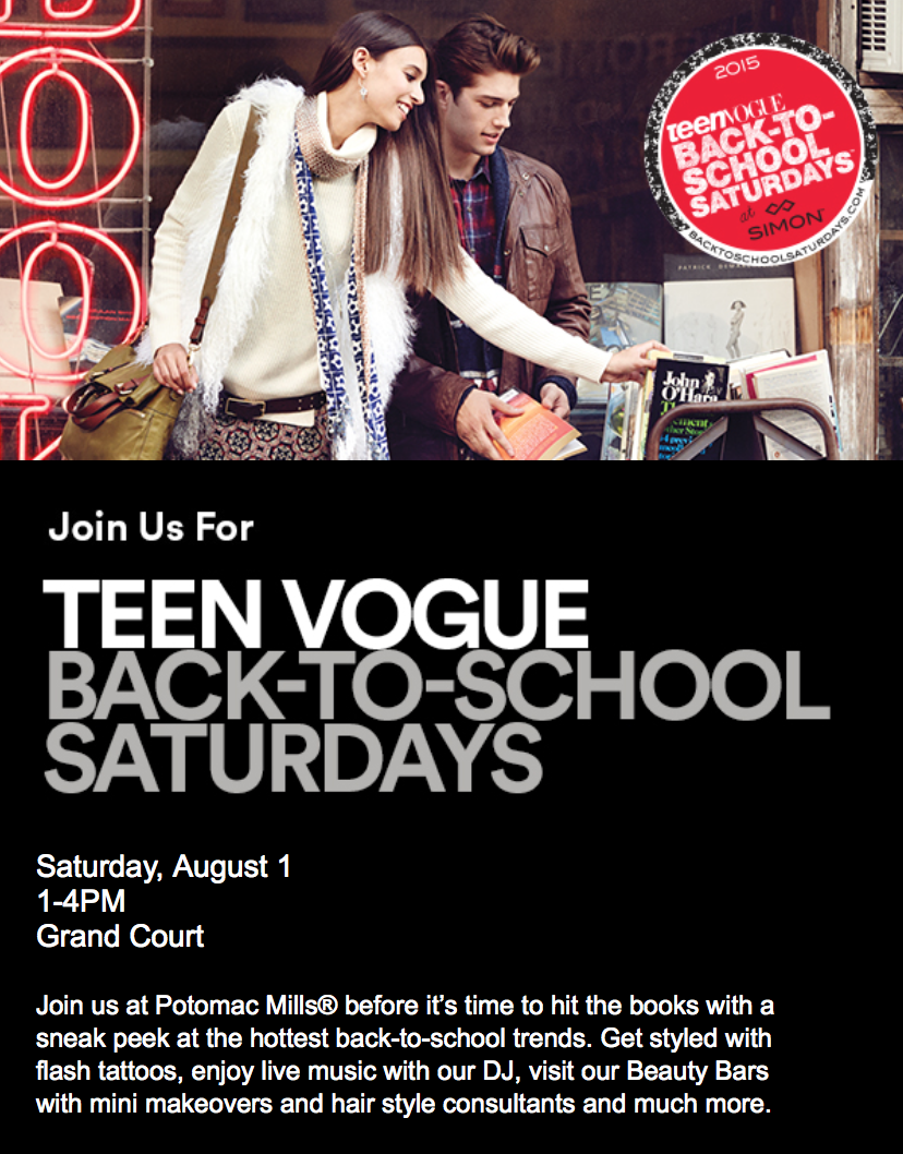 Back to School with Teen Vogue