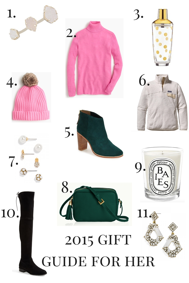 2015 Gift Guide for Her