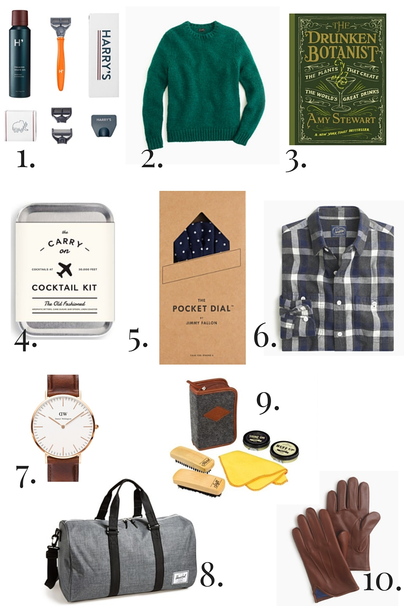 2015 Holiday Gift Guide for Him
