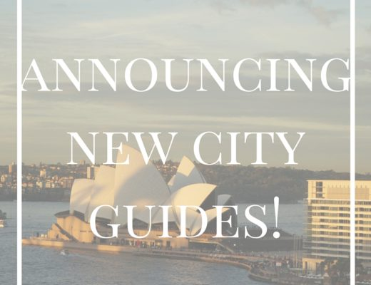 Announcing New City Guides