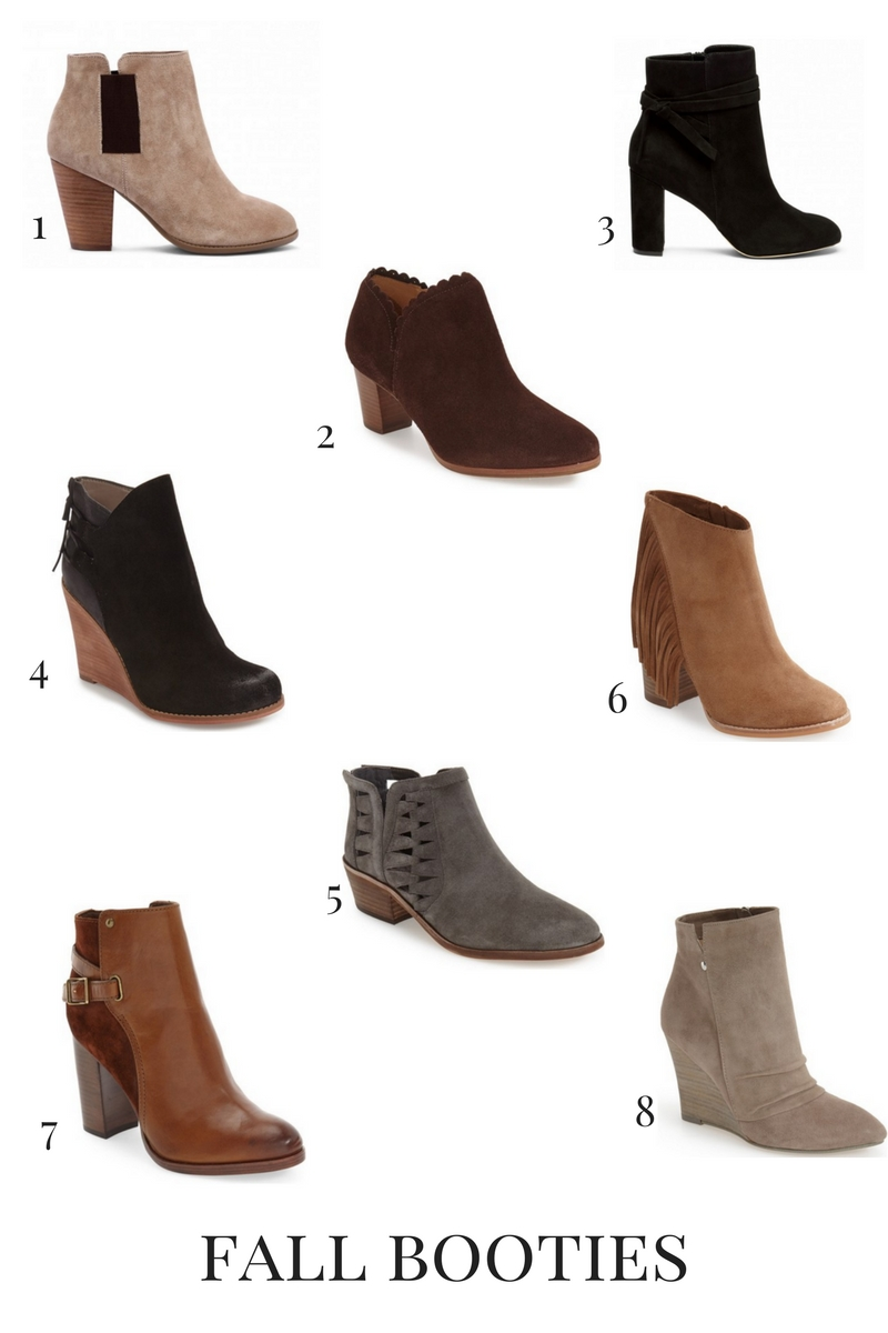 fall booties