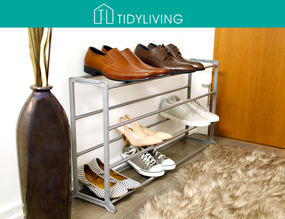 Enter to win a gorgeous 20 shoe rack from Tidy Living!
