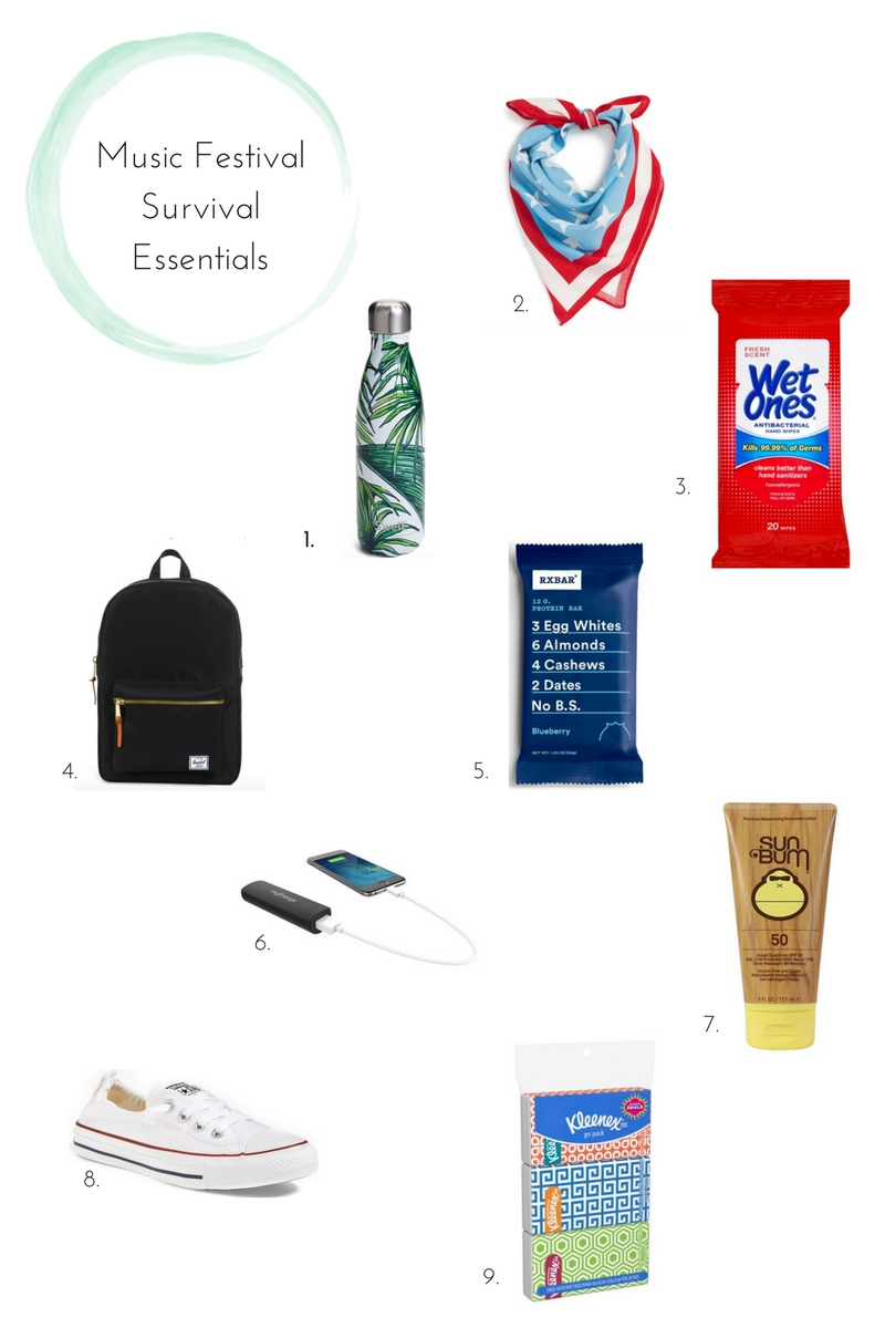 Music Festival Survival Essentials